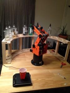 Robotender Mk3, wide view