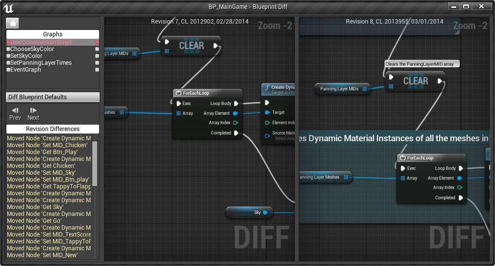 Blueprint Diff Tool