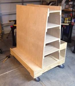 Finished cart (sheet side)